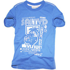 Salty Dog T-Shirt Handcrafted Blue