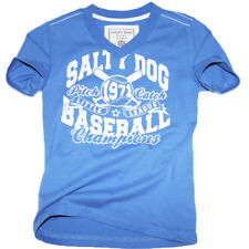 Salty Dog T-Shirt Baseball Blue