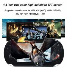 4GB 4.3 Inch  2000 Games Built-In Portable Handheld Video Game Console Player