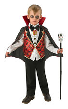 Kids Boys Childs Dracula Fancy Dress Costume Outfit Rubies Vampire Halloween