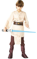 Kids Boys Childs Deluxe Jedi Fancy Dress Costume Outfit Rubies Star Wars