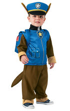 Kids Childs Chase Fancy Dress Costume Outfit Rubies OFFICIAL PAW PATROL