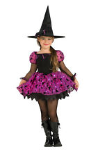 Girls Kids Childs Twinkle Witch Fancy Dress Costume Outfit Rubies Halloween