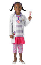 Girls Kids Childs Deluxe Doc Mcstuffins Fancy Dress Costume Outfit Rubies Disney
