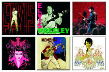 Elvis Presley Fridge Magnet Lets Face It Album new Official 76mm x 76mm