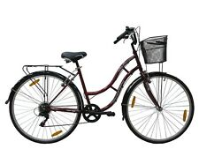 """Tiger' Town And Country 6 VELOCIDADES' mujer bicicleta híbrida - 18"""" Marco -"""