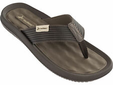 Rider Dunas Mens Flip Flops - Brown, Slip-on Toe Post Summer Sandals