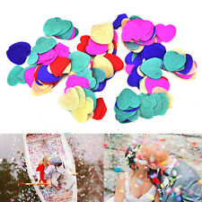 1000/5000X Colorful Shine Love Heart Confetti Table Decoration Wedding Party M&C