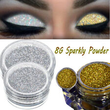 New Girl 8g Sparkly Makeup Glitter Loose Powder EyeShadow Silver+Gold Eye Shadow