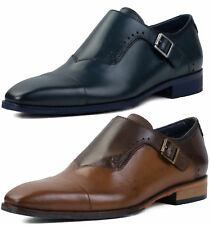 New Goodwin Smith Walsden Mens Monk Strap Shoes ALL SIZES AND COLOURS
