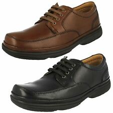 Uomo Clarks in pelle con Lacci Flexlight Air Active Largo Scarpe Casual Swift