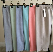 Ladies Women Capri 3/4 Pants Trousers Linen Look Cropped Summer Shorts Plus Size