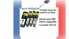 Set di cartucce di inchiostro compatibili lexmark 100XL 100 XL Interact