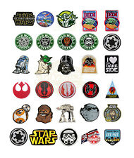 Star Wars Movie Series Patches Ultimate Collection Badge Applique Motif Irone UK