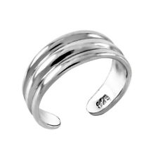 donna argento sterling 925 3 linee DITA PIEDE 5.95MM anello