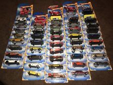 HOT WHEELS 2010 NEW MODELS , BIN 10 STOCK G,H,I J,K.L.M,N,P,Q,R.S