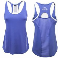 KAPPA Canotta YOGA maglietta shirt DONNA BE POSITIVE ZIFEN Training Blu 906upchm