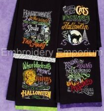 SPELLBOUND HALLOWEEN COLLECTION - MACHINE EMBROIDERY DESIGNS ON CD
