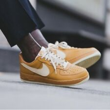 NIKE AIR FORCE 1 07 LV8 | ELEMENTAL GOLD-FOSSIL | 823511-703 DS RARE TRAINERS