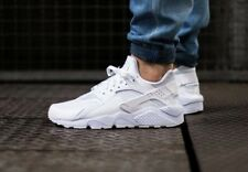 "NIKE AIR HUARACHE RUN | ""TRIPLE WHITE"" WHITE-WHITE-WHITE 