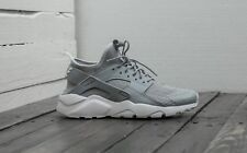 NIKE AIR HUARACHE RUN ULTRA | WOLF GREY-PALE GREY-WHITE | 819685-007 DS TRAINERS