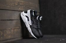 NIKE AIR HUARACHE RUN | BLACK-WHITE-BLACK | 318429-042 RARE DS TRAINERS