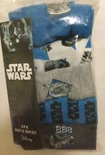 Boys 5 pack Briefs with Star Wars detail