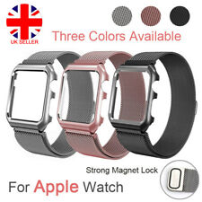 For Apple iWatch Milanese Magnetic Stainless Steel Watch Strap Loop Band 42/38m