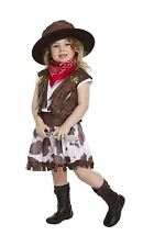 Children Cowgirl Fancy Dress Up Costume Kids Toddler Child Outfit Book Week Day