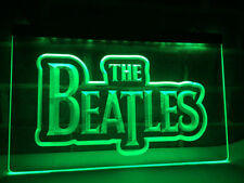 The Beatles Band Music 3D LED Board Neon Sign Light Plate Flag Bar Club Pub Gift