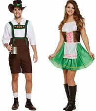 Adults Bavarian Costume Mens Womens Oktoberfest Festival Fancy Bavarian Outfit