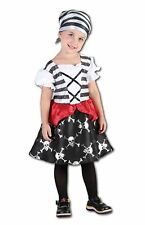 Girls Toddler Pretty Poly Pirate Costume Kids Dress Up Book Week Day Outfit