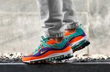 NIKE AIR MAX 98 QS CONE, TOUR YELLOW & GRAPE TRAINERS IN ALL SIZES