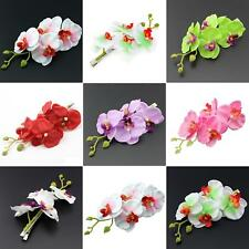 FM- Girl Women Simulation Floral Flower Hairpin Hair Clip Accessories Gift Cleve