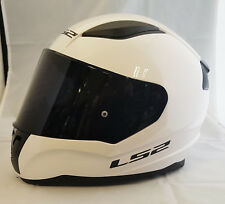 LS2 FF353 RAPID CASCO INTEGRALE MOTO BIANCO CON SCURO Visiera colorata