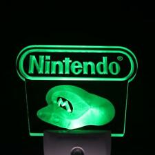 Nintendo Console Game Video LED Neon Sign Day Night Sensor Light Bar Club Pub