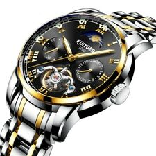 KINYUED JYD-J028 ALL STEEL BAND AUTOMATIC MECHANICAL WATCH BUSINESS STYLE MEN