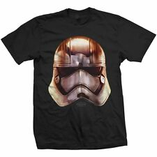 Star Wars T Shirt: The Force Awakens - Phasma Big Head - Official Merchandise