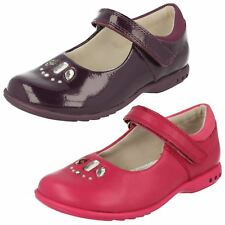 Girls Clarks Casual Shoes with Lights *Trixi Spice*