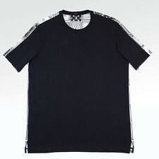 100% Authentic NEW Mens Louis Vuitton LV Printed Card Back Tshirt Navy