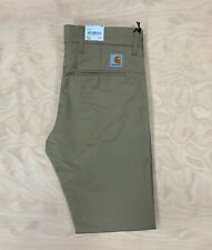 Carhartt Wip Chino Sid Pant  Leather Brown Rinsed  Slim tapered fit Cargo
