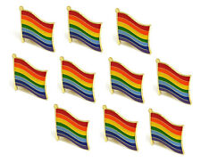 LGBT/Rainbow Set of High Quality Metal Enamel Pin Badges Lapel Brooch Gift  UK