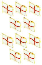 England Flag Set of High Quality Metal Enamel Pin Badges Lapel Brooch Gift  UK