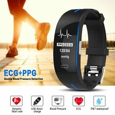 Smartband P3 Heart Rate Monitor Blood Pressure ECG Fitness Tracker Sports Watch
