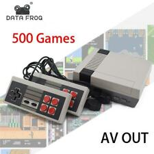 NES Inspired 8 Bit Retro Video Game Console with Built-In 500 Games