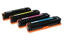Compatible Toner Cartridges for HP CB540 CB541 CB542 CB543 125A Black and Colour