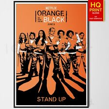 Orange is the New Black Season 4 Netflix Poster | A4 A3 A2 A1 | Wall Decal