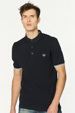 Fred Perry - Poloshirt Herren Button-down-Kragen Herrenpolo neuwertig UVP 105€