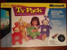 NEW Microsoft Actimates TV Pack for interactive Teletubbies Barney Arthur & DW