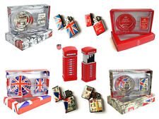 LONDON ASH TRAY AND LIGHTER SETS THE PERFECT SOUVENIR COLLECTABLE GIFT UK
